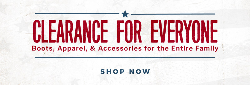 Shop Clearance For Everyone