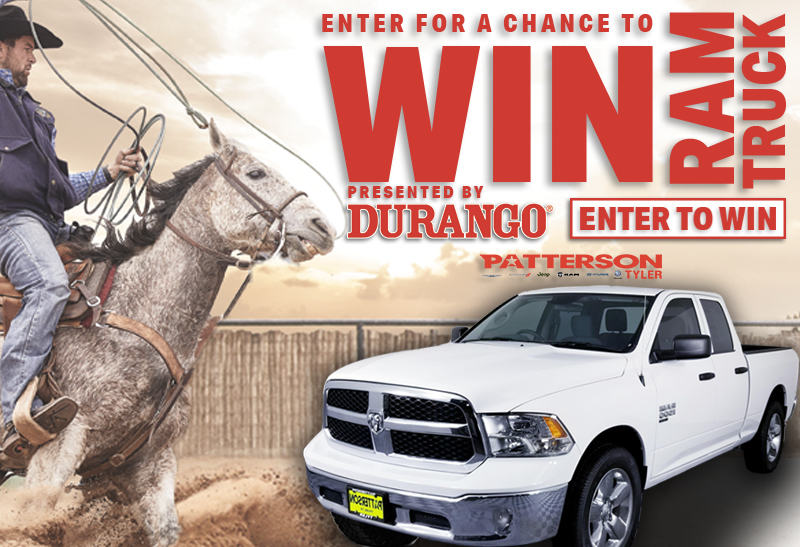 ENTER TO WIN A RAM TRUCK FROM DURANGO®️ BOOTS