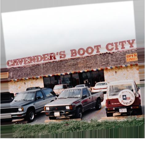 Cavender's 1986