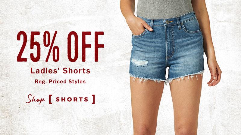 25% Off Ladies' Shorts - Shop Shorts