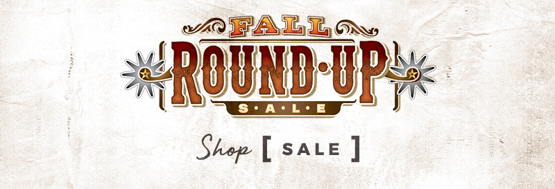 Fall Round Up Sale