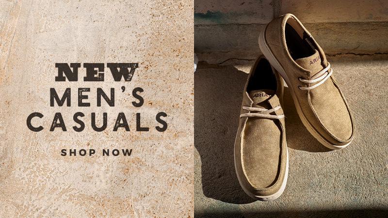 Shop Our Men's Casual Shoes
