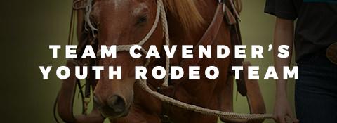 Team Cavender's Pro Rodeo Team