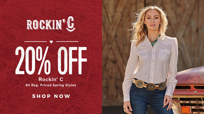 Shop the Spring Round Up Sale for Rockin C