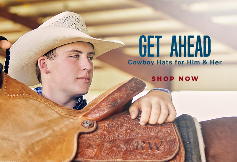 Shop Cowboy Hats for Him & Her