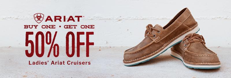 Ariat Cruisers BOGO 50% Off - Shop Ariat Cruisers