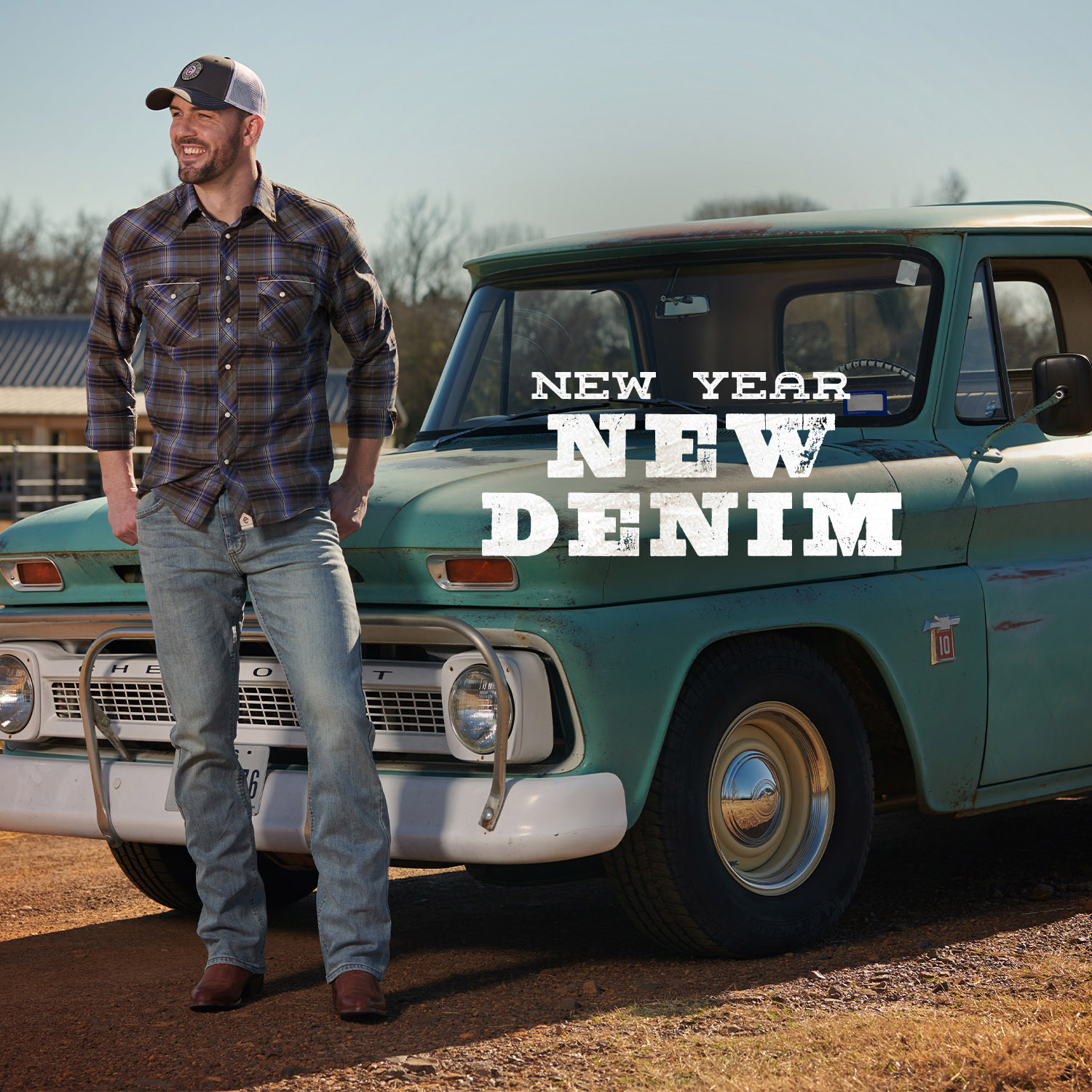 It's a new year, time for new jeans! Check out our huge selection of denim for Men and Women in-store and online!