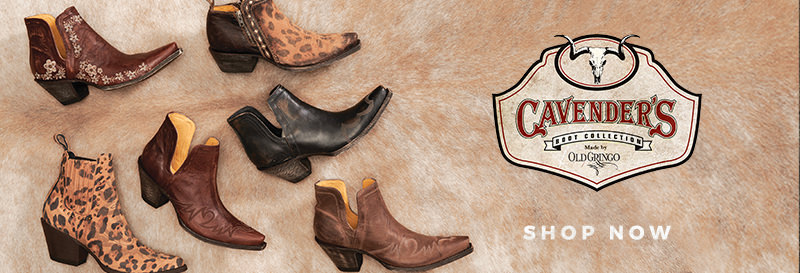 Shop the Cavender's Boot Collection by Old Gringo Now!