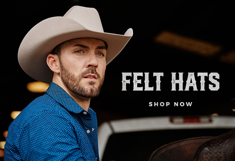 Felt Hats - Shop Now