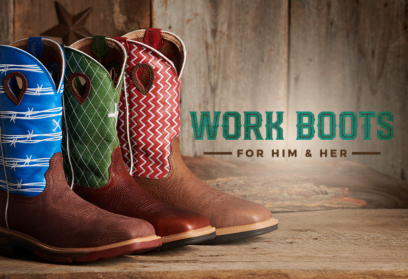 Work Boots for Him and Her