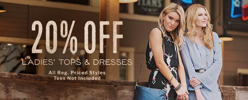 Ladies' Tops & Dresses