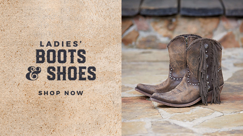 Shop Our Collection of Women's Cowboy Boots & Shoes