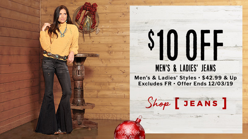 $10 Off Jeans