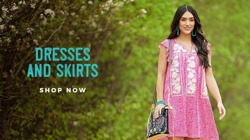 Shop Our Spring Collection of Women's Dresses and Skirts