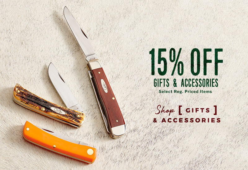 Select Gifts & Accessories - 15% Off