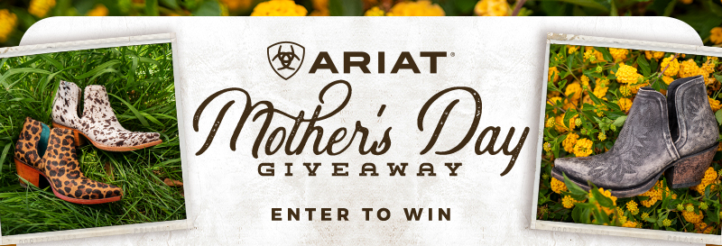 Enter our Mother's Day Ariat Dixon Giveaway