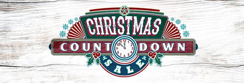 Shop the Christmas Countdown Sale