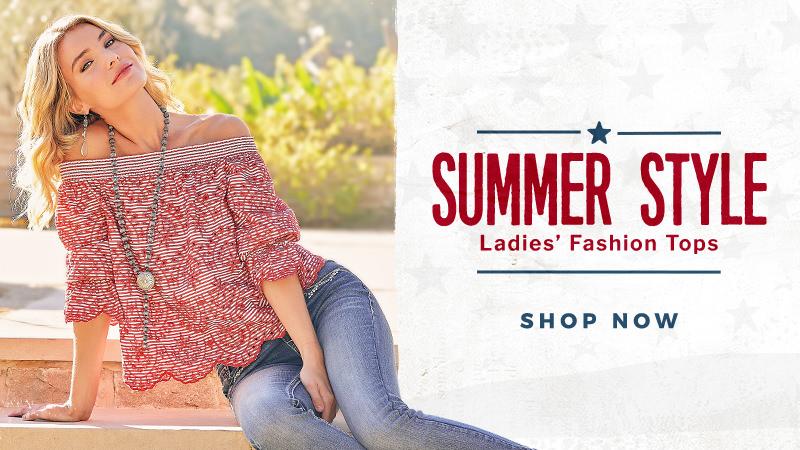 Shop Ladies' Fashion Tops