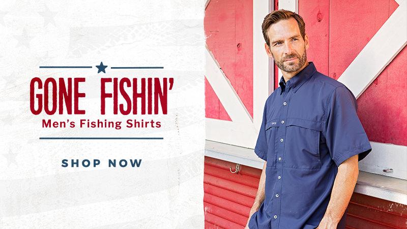 Shop Men's Fishing Shirts