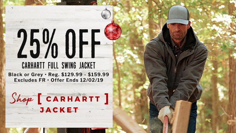 25% Off Carhartt Full Swing Jacket