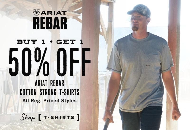Ariat Rebar Cotton Strong