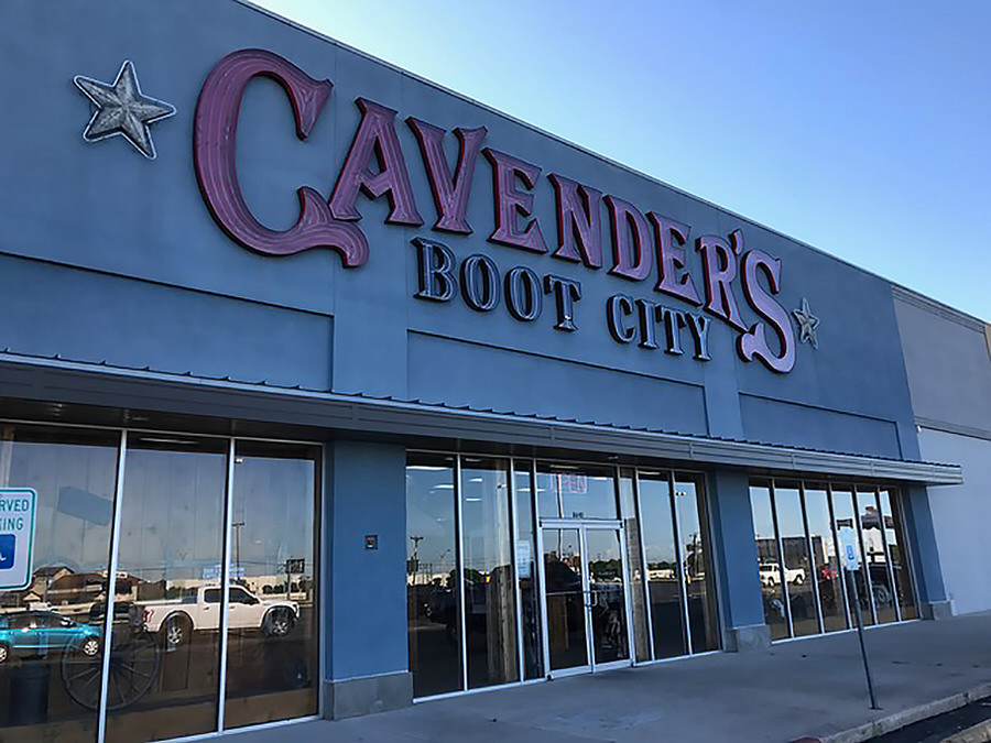 Cavender S Boot City At 8640 Four Winds Drive In San