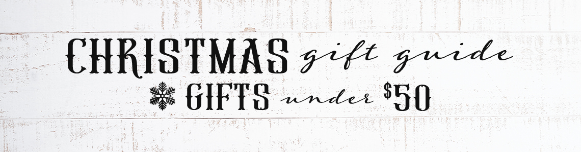 Under $50 Holiday Gift Guide from Cavender's