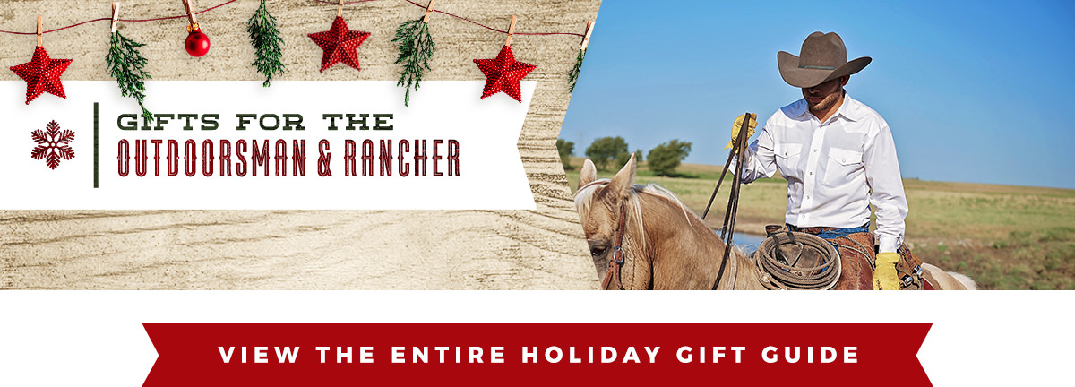 Men's Holiday Gift Guide from Cavender's