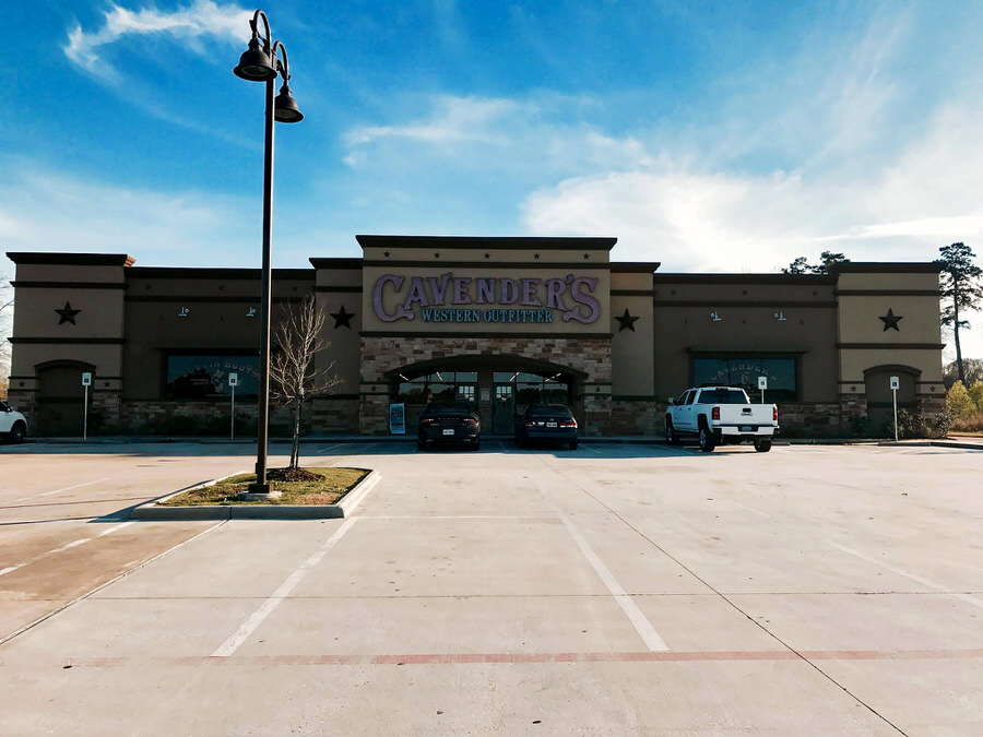 Cavender's Western Outfitter at 186 Bass Pro Drive in Denham